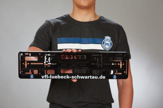 VFL-Lübeck-Schwartau – Handball – Fanshop-Kennzeichenhalter