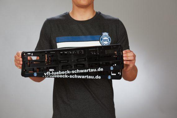 VFL-Lübeck-Schwartau – Handball – Fanshop-Kennzeichenhalter2