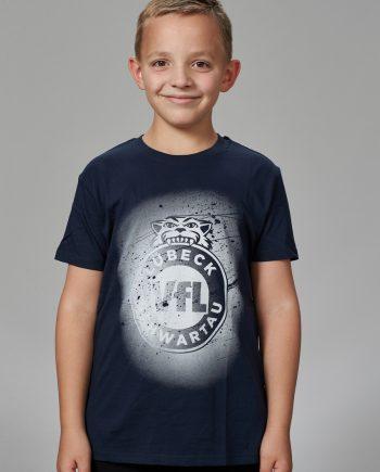 VfL Lübeck- Schwartau - Fanshop - Handball - T-Shirt blau 5