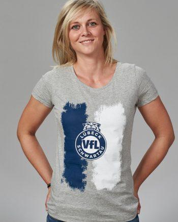VfL Lübeck- Schwartau - Fanshop - Handball - T-Shirt stripes 3