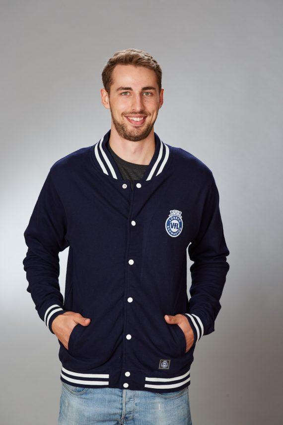 VFL-Lübeck-Schwartau – Handball – Fanshop-Collegejacke