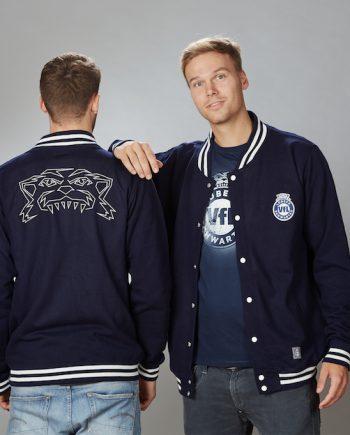 """College Jacke """"Tiger"""" Unisex in navy. 59,90 €. Ausführung wählen · VfL  Lübeck- Schwartau - Fanshop ... 3a4661e755"""