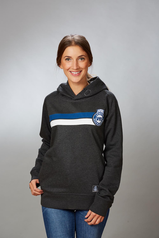 """VFL-Lübeck-Schwartau – Handball – Fanshop-TShirt Label anthrazit ·  Startseite   Damen   Hoodie """"Block"""" Damen in anthrazit 7c20ba5787"""