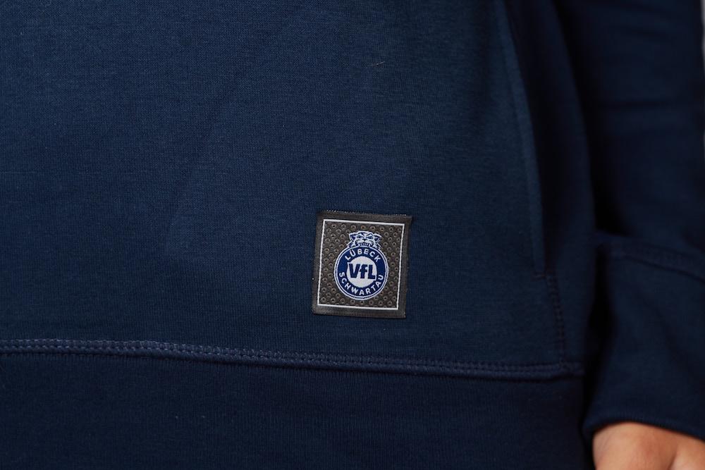 """Hoodie """"Sprayed"""" Herren in navy – Fanshop – VfL Lübeck-Schwartau f547fb9073"""