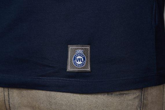 VFL-Lübeck-Schwartau – Handball – Fanshop-TShirt navy Label
