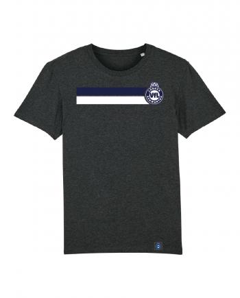 """T-Shirt """"Block"""" Herren in charcoal"""