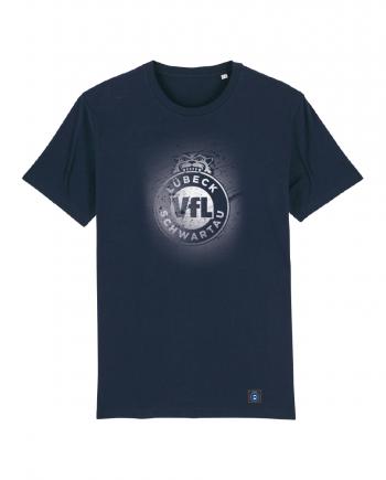 """T-Shirt """"Sprayed"""" Kids in navy"""