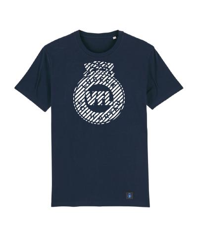 "T-Shirt ""Zebra"" Kids in navy"