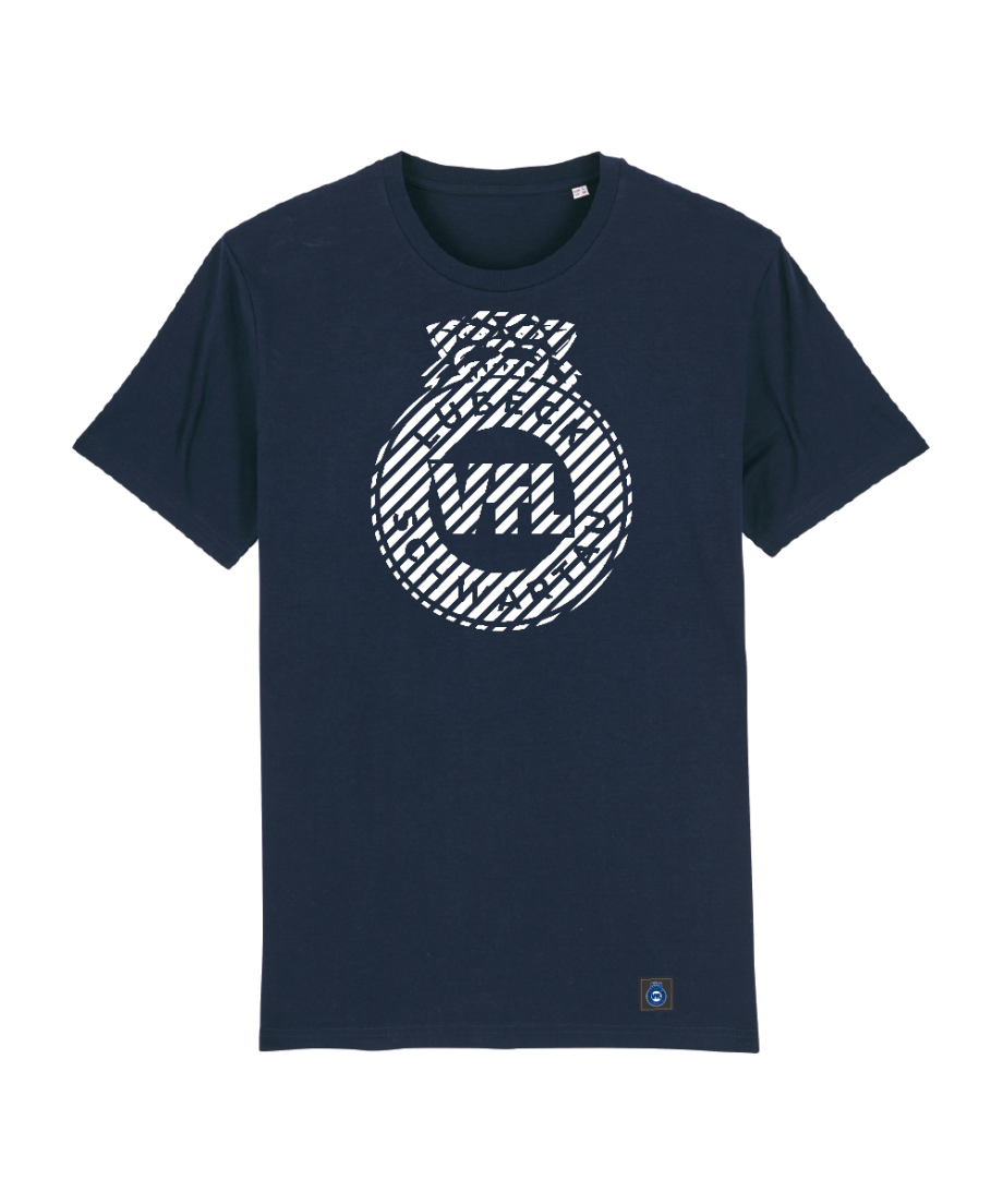 "T-Shirt ""Zebra"" Kids in navy"